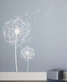 Dandelions on the walls?