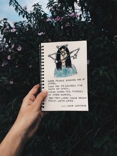 some people remind me of stars, that are in galaxies far away in space, their words tell stories of other worlds, and carry their broken pieces with grace  // poetry by Noor Unnahar // art journal ideas, girl watercolor illustration, notebook, journaling, words, quotes, poem, inspiration, tumblr white aesthetics hipsters craft diy, instagram photography artists, bookstagram //
