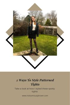 White Jumper, Black Denim Skirt, Patterned Tights, Warm In The Winter, 2 Way, Black And White Colour, Faux Leather Jackets, Black Flats, Fashion Bloggers