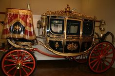 The Irish State Coach at the Royal Mews