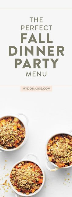 welcome to fall dinner party the perfect menu diy ideas pinterest dinner fall dinner and. Black Bedroom Furniture Sets. Home Design Ideas