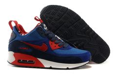 detailed look 184ac 7a6a5 Nike Air Max Mens Nike Air Max Mens Air Max 90 Mens Shoes Air max 90  Sneakerboot Skor Dam Nike Air Max 90 Sneakerboots Prm Undeafted Mens Skor  Ocean Bla Rod ...