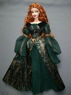 Legends of Ireland Aine Irish Barbie Doll | eBay | barbie ...
