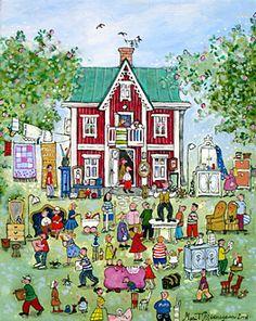Garage Sale by Marit Bjornegran