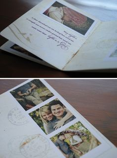 Lehani & D.J.'s passport wedding invites - Blog - Seven Swans Wedding Stationery