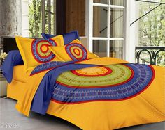 Checkout this latest Bedsheets_500-1000 Product Name: *Imperial Jaipuri Mandala Printed Double Bedsheet* Fabric: Bedsheet - Cotton  Pillow Covers - Cotton Dimension: ( L X W ) - Bedsheet - 90 in x 100 in Pillow Cover - 17 in x 27 in Description: It Has 1 Piece Of Double Bedsheet   2 Piece Of  Pillow Covers Work: Printed Thread Count: 160 Country of Origin: India Easy Returns Available In Case Of Any Issue   Catalog Rating: ★4.2 (2511)  Catalog Name: Cosmic Jaipuri Mandala Printed Double Bedsheets Vol 1 CatalogID_54718 C53-SC1101 Code: 034-497427-7401