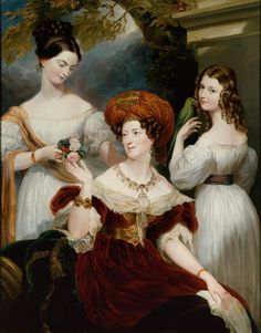 Lady Stuart de Rothesay and her daughters by George Hayter - George Hayter - Wikimedia Commons