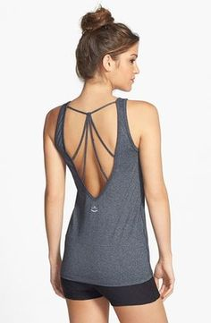 Fitness Gyms Outfits : Beyond Yoga Ethereal Multistrap Tank Yoga Fashion, Sport Fashion, Fitness Fashion, Workout Attire, Workout Wear, Nike Workout, Womens Workout Outfits, Sport Outfits, Athleisure