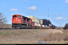 RailPictures.Net Photo: CN 8885 Canadian National Railway EMD SD70M-2 at Spruce Grove, Alberta, Canada by Tyson Biermann