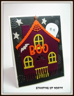 stamping up north: Poppy Stamps Cute Cottage  haunted house