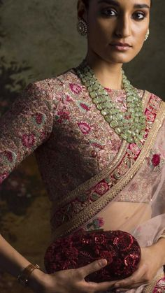 The latest Indian saree designs look-book is here! Take a look at some of the most amazing and new-age styles of draping your regular saree like a diva! Sabyasachi Sarees, Lehenga Choli, Anarkali, Bollywood Saree, Bollywood Fashion, Bridal Lehenga, Latest Indian Saree, Indian Sarees, Indian Wedding Outfits