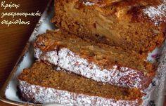 Νηστίσιμο κέικ μήλου στο μπλέντερ ή στο multi! (VIDEO) - cretangastronomy.gr Greek Desserts, Apple Desserts, Greek Recipes, Apple Recipes, Easy Desserts, Cookie Recipes, Snack Recipes, Vegan Recipes, Pumpkin Bread