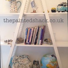 The Painted Shack - Furniture shops online Hand Painted Furniture, Upcycled Furniture, Ladder Bookcase, Shabby Chic, Shelves, Colours, Shops, Design, Home Decor