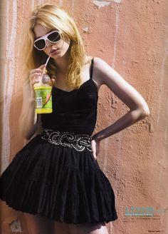 Jessica Stam in 'Miami Love'