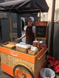 car chefs, event cart, food cart, temaki cart … – Wine World Coffee Carts, Coffee Shop, Chariot Plancha, Mobile Food Cart, Food Cart Design, Bike Food, Food Kiosk, Pizza Bites, Pizza Pizza