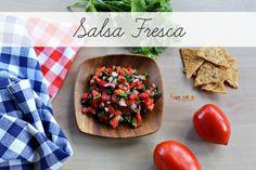 Salsa Fresca - Enjoy a fresh snack