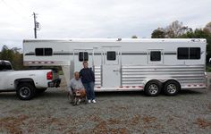Congratulations and thank you to Jennifer Batts of Rocky Mount, NC on being a repeat customer and purchasing a Deluxe 4-Star 2+1 from Jim Link at LA Trailer Sales, LLC!! 800 350-0358