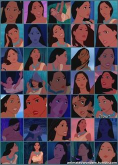 She has more expressions than every other Disney Princess combined. Pocahontas For All The Wins. Disney Pixar, Disney Pocahontas, Princess Pocahontas, Disney And Dreamworks, Disney Art, Disney Characters, Disney Princesses, Pocahontas Character, Disney And More