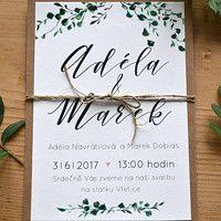 Svatební oznámení / Zboží prodejce atelier MADE | Fler.cz
