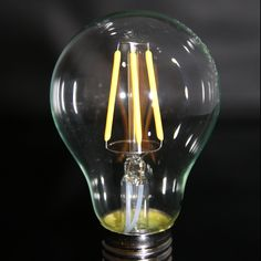 Glühbirne Edison Style 4 W Led Licht, Light Bulb, Lighting, Home Decor, Pear, Bulb Lights, Homemade Home Decor, Light Fixtures, Lightbulbs