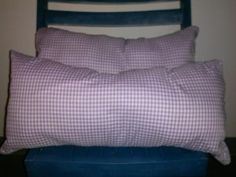 Set of 2 Purple & White Gingham Plaid by LMTDInteriorConsults, $15.00