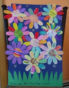 first meeting ideas for daisy girl scouts | ... empty craft table and worked on the thank-you daisies for the church