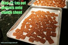 Pretzel Bark with Caramel  Yummo!   Get the at ceceliasgoodstuff.com for the recipe.