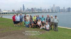 Australian Machinery Enthusiasts visit USA with www.toursgallery.com ... join the next tour in August 2018.