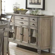 Store Your Extra Dinnerware Flatware And Table Linens In A Buffet Or Sideboard Shop Our Great Selection Of Stylish Tables Sideboards