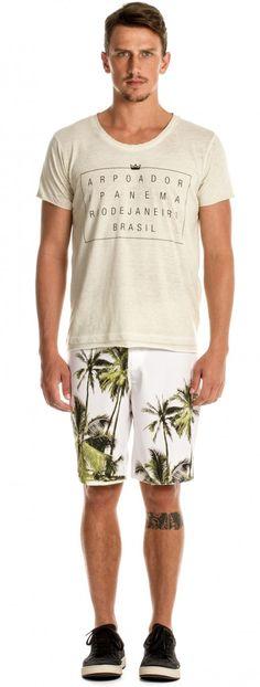 Osklen - T- SHIRT MASC OVER USED ARPOADOR MC - t-shirts - men