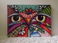 lindos y fáciles cuadros para hacer y decorar tus habitaciones                               estos cuadrosestánmuyfácilesrealizadossi ... Diy And Crafts, Arts And Crafts, Acrylic Painting Tips, Clay Tiles, Arte Pop, Designs To Draw, Watercolor Art, Folk Art, Mandala
