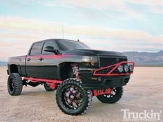 Chevy Truck Lifted 4X4    http://TreyPeezy.com  http://twitter.com/treypeezy   found it baby here your truck