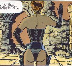 Les Héroïnes de BD: Laureline,  Valérian ( Mézière ) The gap, or: the tunnel of love....nice hip and back