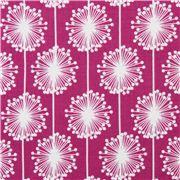 fuschia flower fabric Riley Blake Andrea Victoria