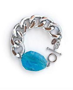 Silver Athena bracelet