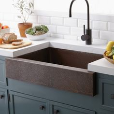 "Native Trails Renewal 33"" x 22"" Paragon Copper Kitchen Sink & Reviews…"
