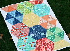 Triangle Brights by Fresh Lemons : Faith, via Flickr