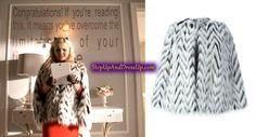 Chanel Fur Coat in Scream Queens Chanel Scream Queens, Scream Queens Fashion, Chanel No 5, Merino Wool Blanket, Her Style, Fur Coat, Barbie, Jackets, Mood