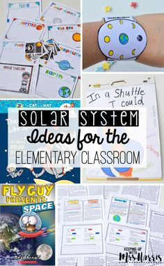 solar system - solar system books - solar system anchor chart - solar system activities - solar system lessons Education Solar System Activities for the Elementary Classroom - Keeping Up with Mrs. Solar System Activities, Space Activities, Teaching Activities, Teaching Science, Science Education, Physical Education, Teaching Resources, Physical Science, Solar System Kids