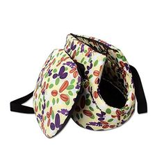 UEETEK Cat Dog Carrier Bag Small Pet Travel Soft padded Shoulder Bag Purse - Size S (Tricolor Leaves) * Find out more about the great product at the image link. (This is an affiliate link) #MyDog