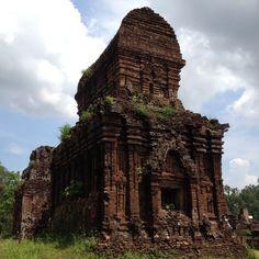 Myson ruins in Vietnam.