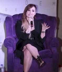 Rueda de Presa - Demi Lovato en la Arena Ciudad de México, en la Ciudad de México 16-Mayo-2014.