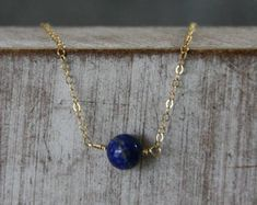 Goldkette mit Lapislazuli,Geburtsstein Kette,Filigrane Goldkette - Artikel bearbeiten - Etsy Arrow Necklace, Pendant Necklace, One More Step, Marketing And Advertising, Handmade Items, Gold, Etsy, Jewelry, Crystals