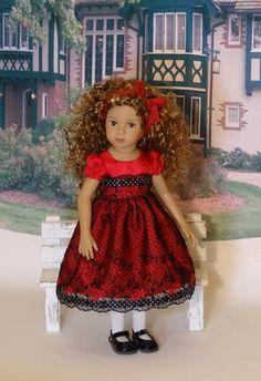 "Evie - custom 13"" Mini Pal doll w/ wardrobe"