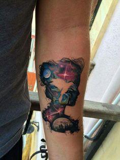 Tattoo space mind