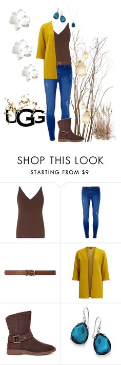 """""""The New Classics With UGG: Contest Entry"""" by campanellinoo on Polyvore featuring Dorothy Perkins, VILA, UGG, Ippolita and ugg"""