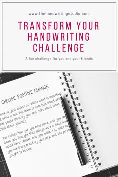 Interested in improving your penmanship? Here is a fun challenge to help you transform your handwriting. Send it to your friends too. Handwriting Analysis, Cursive Handwriting, Handwriting Practice, Penmanship, Nelson Handwriting, Sending Condolences, Handwriting Recognition, Correspondence Cards, Improve Your Handwriting