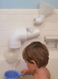 14 Awesome PVC Projects for the Home • Lots of great Ideas and Tutorials! Including, from 'ellis belus', these clever DIY PVC bath toys!