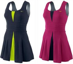 Serena Williams' Nike dresses for US Open 2012 #TennisCouture #TennisFashion