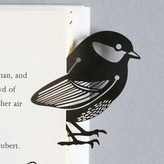 silver bird metal bookmark £6.00